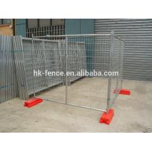 Cerca de segurança temporária revestida de PVC de alta qualidade