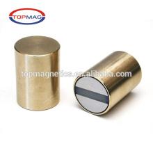 Ímã de AlNiCo sinterizado em forma de cilindro ímã forte de alta precisão de alta precisão