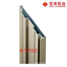 Perfil de extrusão de moldura de porta de alumínio
