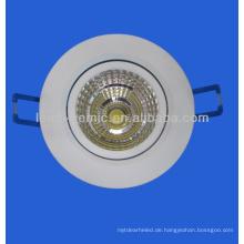 LED-Downlight für Bürobeleuchtung Anforderungen