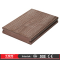 Antiseptic Interlocking Wood Plastic Floor Tiles for Garage