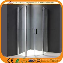 2 шарнира двери без подноса стеклянная душевая кабина (АДЛ-8A68)
