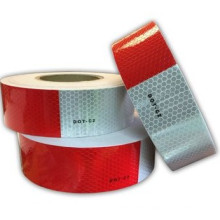 Vehicle Reflective Tape, DOT-C2, Honeycomb Caution
