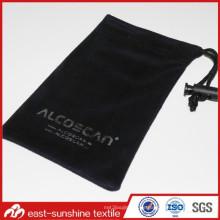 Kundenspezifische Soft Microfaser Tunnelzug Stofftuch