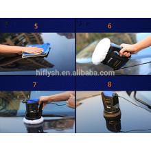 HF-150 (010) Puissance forte DC 12 V Polisseuse de voiture Polisseuse électrique Cireuse à polir Portable outils d'entretien des véhicules de beauté