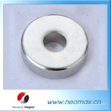 Неодимовый радиальный кольцевой магнит