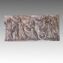 Мифология Статуя Рельеф / Рельеф Аполлон Бронзовая скульптура TPE-451A / B