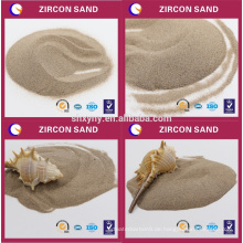 Hohe Feuerfestigkeit Zirkon Sand einfach in Stücke