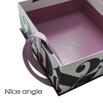 Unique paper cardboard beauty cosmetic box