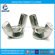 In Stock Chinese Supplier DIN315 Stainless Steel wing nut.