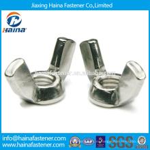 На складе Китайский поставщик DIN315 Нержавеющая сталь крыла гайка.