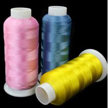 120d / 2 (108D / 2) linha 100% do bordado do filamento do poliéster