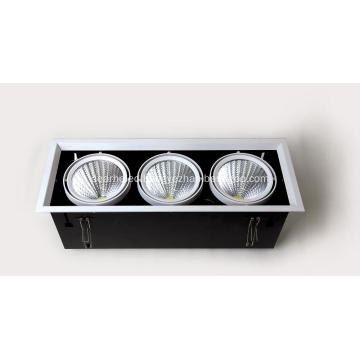 High Quality 30W bean container lamp 1900-2100lm AC90-260V Hole 365*130mm 3000-6000k ceiling light wall light