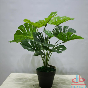 Anti UV Artificial Monstera em vaso