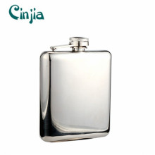 Mirror Fashionable 304 Stainless Steel Gift Hip Flask (XF-681)
