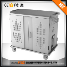 Tablet Charging and Management Cart for transporting securing protecting and charging all your mobile computing devices