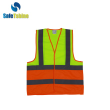 biocolor high light Vest with Reflective Strips