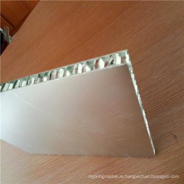 Легкие огнестойкие алюминиевые сотовые панели с перегородками