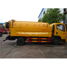 Dongfeng vacuum sewage suction tanker truck