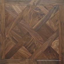 Parquet de plancher de mosaïque en bois de chêne Plancher de plancher en bois machiné par ingénierie
