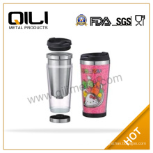 Eco friendly Stainless Steel Plastic Coffee Cup Mug