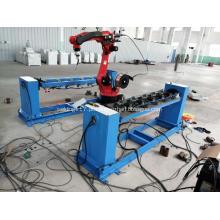 Braço manipulador de soldagem de robô automático