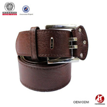 2015 Good Selling Fashion Leather Belt with Double Pin buckle Belt