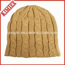 2016 Heiße Verkäufe Winter-warme Häkelarbeit-Hut-Mütze