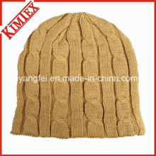 2016 Горячие продажи Зимний теплый вязания крючком шапочка