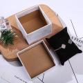 Marbre Vein Art papier Carton Coffret Cadeau Eponge