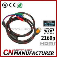 Cabo HDMI de 90 graus