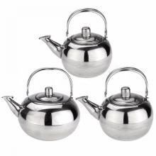 Caldera del pote del té de la manija del pote del té del acero inoxidable