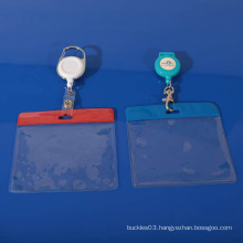 Hot selling transparent PVC badge holder