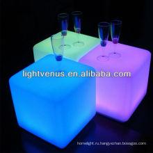 40 см аккумуляторная и Водонепроницаемый светодиодный бар декоративный круглый стул свет