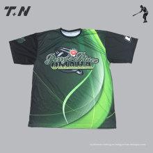 El ajuste seco delgado se divierte el golf T Tee Shirt
