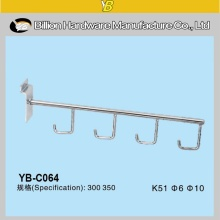 Hot Sale Chrome Plating Supermarket Security Display Hook