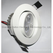 3W flexible LED personalizado Downlight (DT-TH-013B)