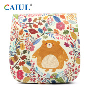 Forest Bear PU Leather Instant Camera Case