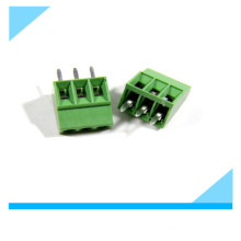 2.54mm Pitch 3 Pin PCB Mount Screw Terminal Block
