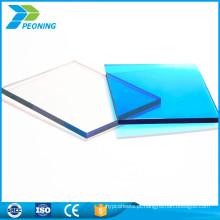 Fábrica 100% bayer virgem 1,5-18 mm de espessura de folha de policarbonato de makrolon folha sólida de PC