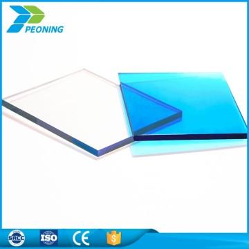 Barato 1.22 * 2.44m PC plástica Estampilla antiestática del precio de fábrica hoja del policarbonato