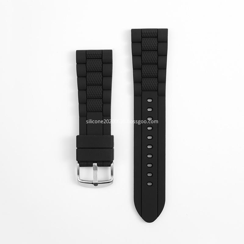 Silicone RFID Wristband black