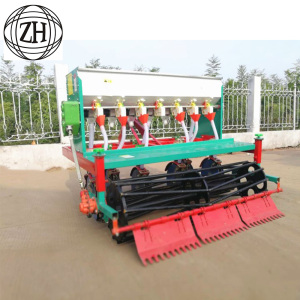 18 Rows Wheat Planter Machine Fertilizer Seed