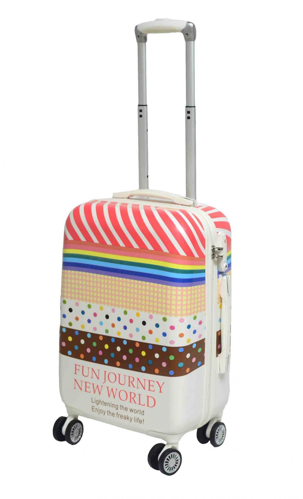 Novo Design ABS & PC bagagem com cor de contraste bonito