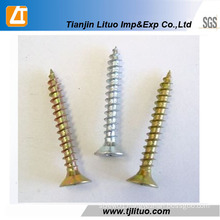 Single/Double Head Zinc Plated Furniture Screws