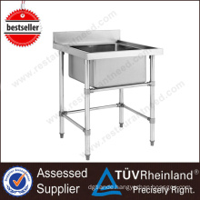 High Quality Customized Free Standing Stainless Steel Sink Stand