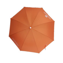 Auto Open Orange Advertising Straight Umbrella (JYSU-15)