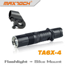Maxtoch TA6X-4 Tactical Cree LED aux flambeaux