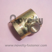 BT6001 brass fitting for three way thread connector