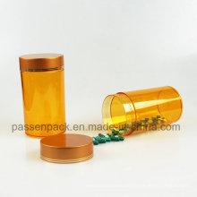 100ml Amber Pet Plastikmedizin Container für Pillen (PPC-PETM-004)